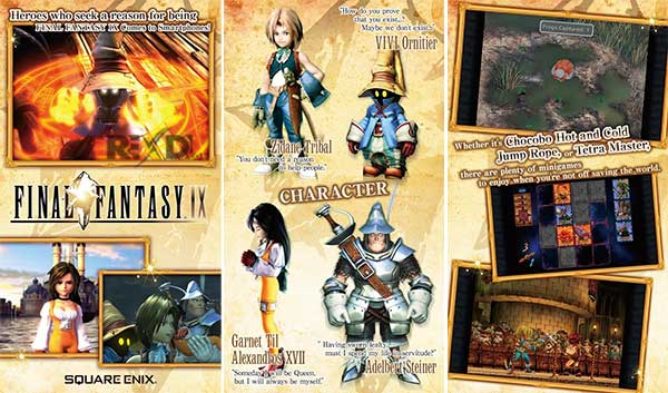 FINAL FANTASY IX for Android Apk