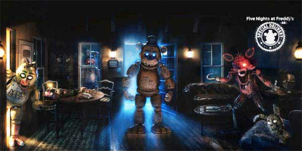 Five Nights at Freddy's AR Mod
