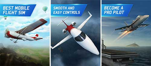 Flight Pilot Simulator 3D Apk