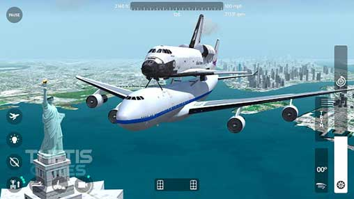 Flight Simulator 2018 FlyWings Apk