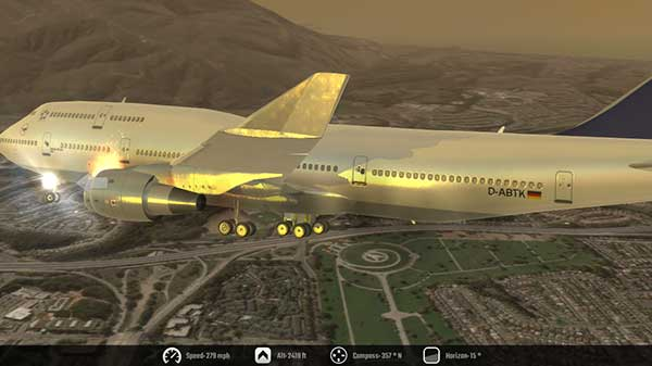 Flight Simulator 2K16 Apk