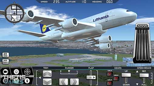 Flight Simulator FlyWings 2017 Apk