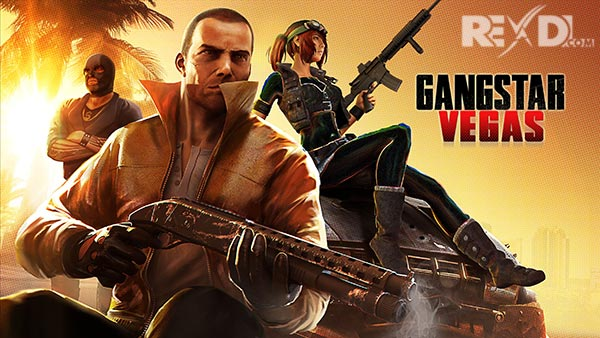 Gangstar Vegas 4 4 0m Apk + Mod VIP + Data Unlimited Money