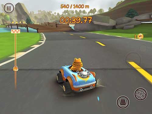 Garfield Kart Fast & Furry Apk