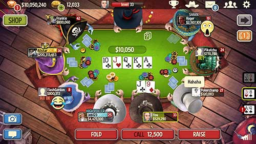Governor of Poker 3 HOLDEM Apk
