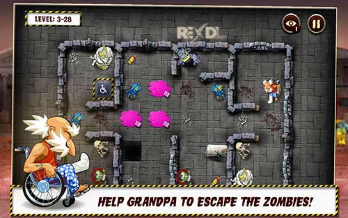 Grandpa and the Zombies Apk