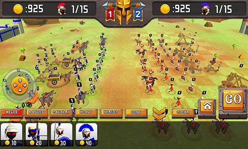 Greek Warriors : Castle Defence Apk