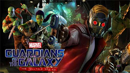 Guardians of the Galaxy TTG 1 08 Unlocked Apk + Mod + Data