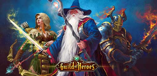download guild of heroes mod apk