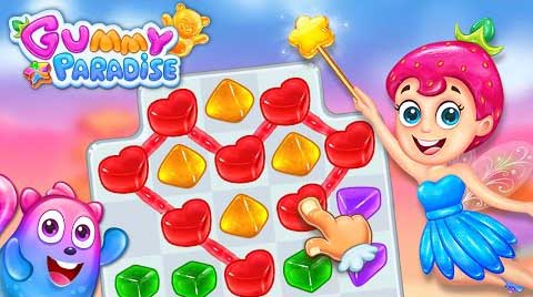 Gummy Paradise 1.4.8 Apk + Mod (Live) for Android