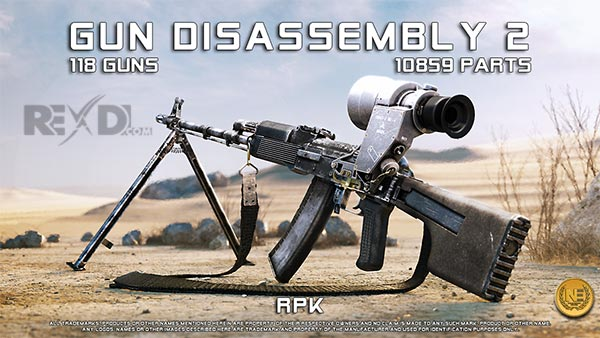 Gun Disassembly 2 Apk