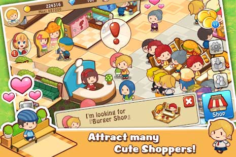 Happy Mall Story Apk
