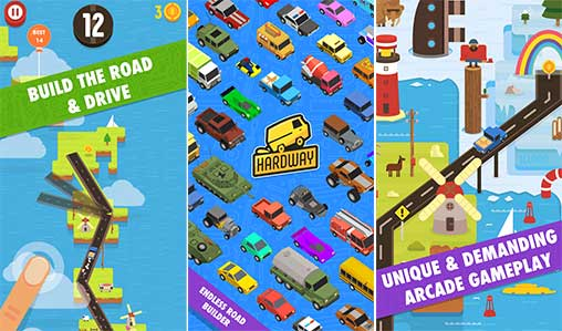 Hardway - Endless Road Builder Apk