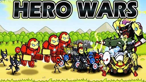 HERO WARS Cover