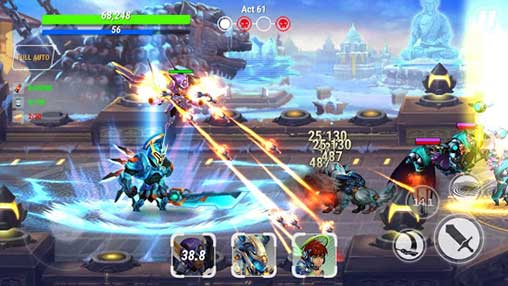 Heroes Infinity: God Warriors Apk