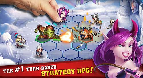 Heroes Tactics War & Strategy Apk