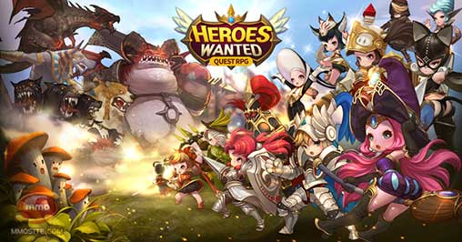 HEROES WANTED Quest RPG