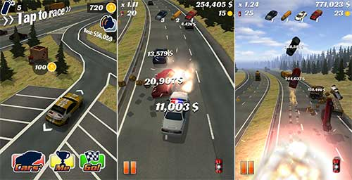 Highway Crash Derby Apk