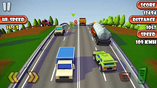 Highway Traffic Racer Planet Apk