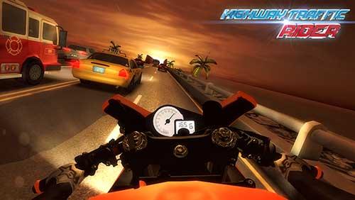 moto rider in traffic hack apk
