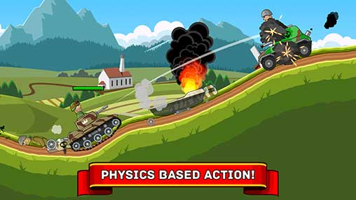 Hills of Steel Apk