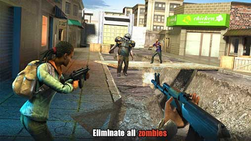 Hopeless Raider-Zombie Shooting Games Apk