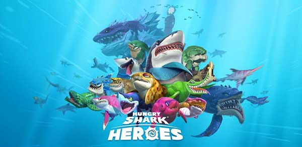 Hungry Shark Heroes 2.9 (Full) Apk + Data for Android