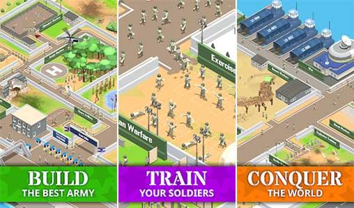 Idle Army Base Apk