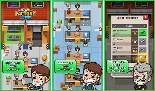 Idle Factory Tycoon Apk