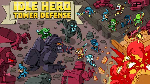 Idle Hero TD Fantasy Tower Defense Money Android Apk Mod Revdl