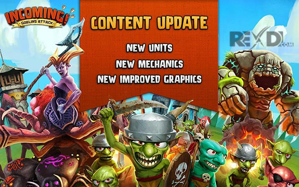 Incoming! Goblins Attack TD Apk