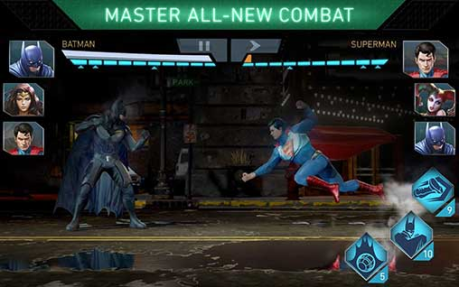 Injustice 2 3 2 1 Apk + Immortal mod + Data for Android