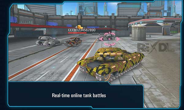 Iron Tanks - Online Battle Apk