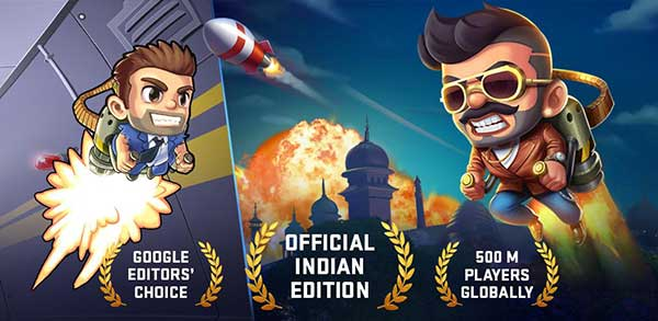 Jetpack Joyride India Exclusive Mod
