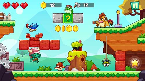 Jungle Adventures of Mario Apk
