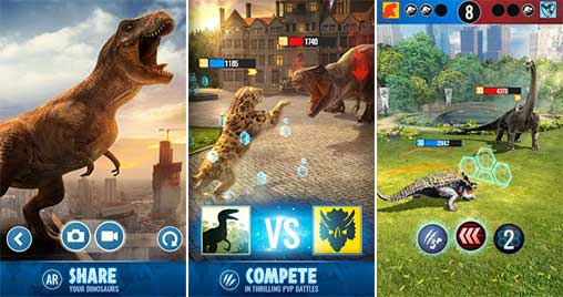 Jurassic World Alive 1 8 39 Apk + Mod (Unlimited Battery