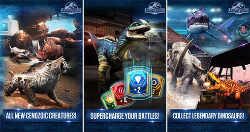 Jurassic World The Game Apk
