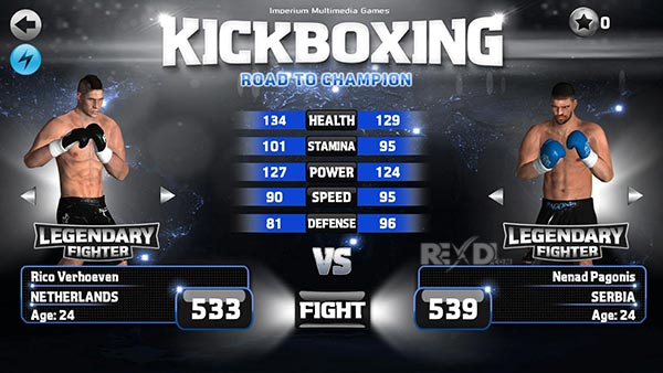 Kickboxing Road To Champion P Android