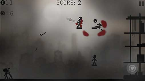 Knife Attacks Stickman Battle Apk