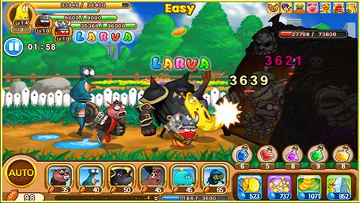 Larva Heroes2: Battle PVP Apk