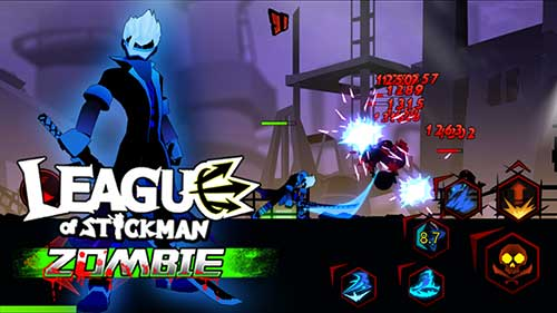 League of Stickman Zombie Apk
