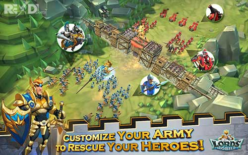 Lords Mobile 2 28 Full Apk Mod Fast Skill Recovery Data Android
