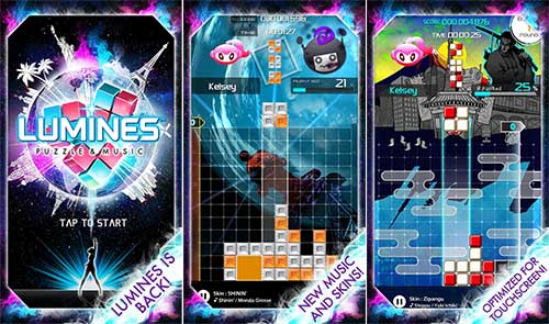 LUMINES PUZZLE & MUSIC Apk