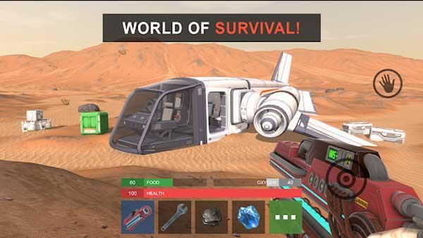 Marsus: Survival on Mars Mod