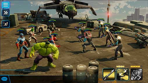 MARVEL Strike Force Apk Mod Revdl