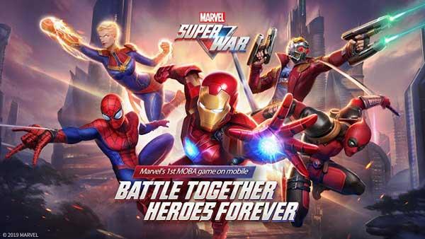 MARVEL Super War Cover