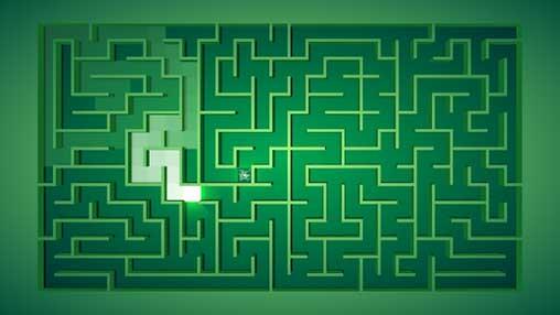 Maze: path of light apk