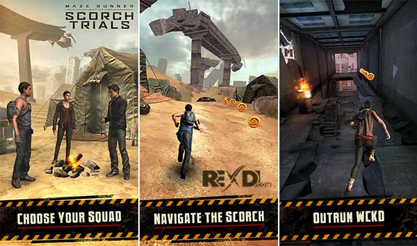 Maze Runner The Scorch Trials Apk