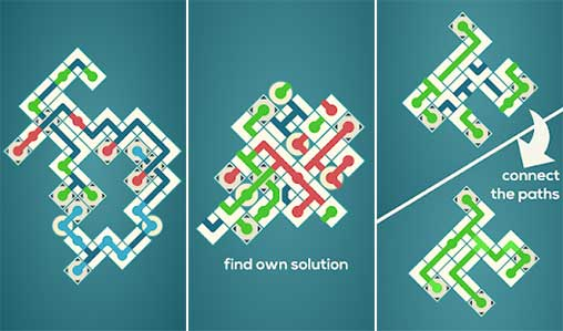 Maze Swap - Think and relax Apk