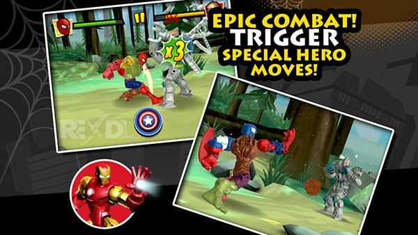 Mix+Smash Marvel Mashers Apk